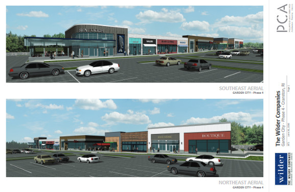 garden city center in cranston is moving forward with development and leasing for a fourth phase - Garden City Center