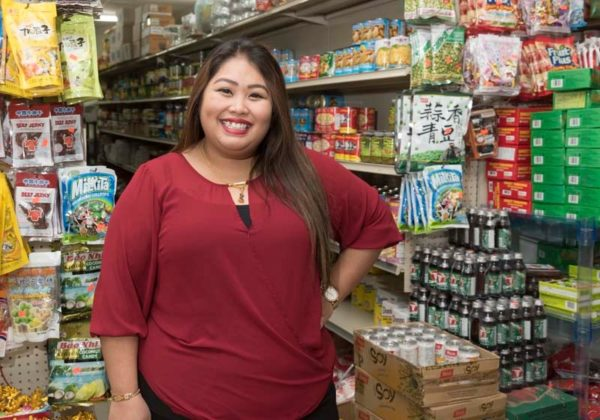 NEW HOME: Jenny Ounnarath, the daughter of Laotian immigrants who opened the New Battambang Market in Providence in 2004, says her parents chose Providence due to increased traffic from the high population of Southeast Asians. / PBN PHOTO/MICHAEL SALERNO