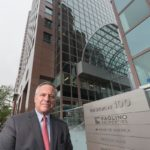A CITY FOCUS: Former Providence Mayor Joseph R. Paolino is leading the effort to make Kennedy Plaza less confrontational and – according to him and other business leaders – more hospitable to businesspeople and visitors. / PBN FILE PHOTO/MICHAEL SALERNO