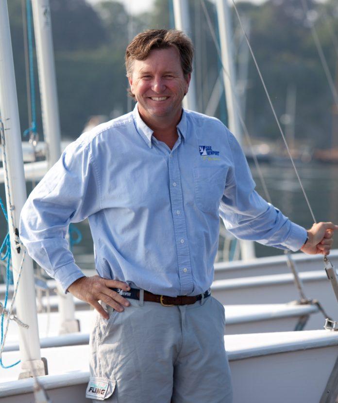 BRAD READ is executive director of Sail Newport. / COURTESY SAIL NEWPORT