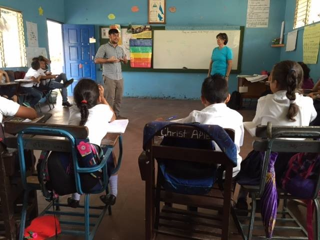 C.J. SANCHEZ, a 2013 University of Rhode Island graduate, serves as an environmental educator in Nicaragua. / COURTESY PEACE CORPS
