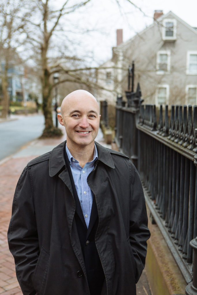 Since being named executive director of the Providence Preservation Society in October 2013, Florida native Brent Runyon has dedicated himself to helping the city preserve important structures and prosper through the effort. / PBN PHOTO/RUPERT WHITELEY