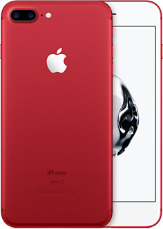 APPLE INC. introduced a shiny red iPhone 7, whose sales will help to combat AIDS. / COURTESY APPLE