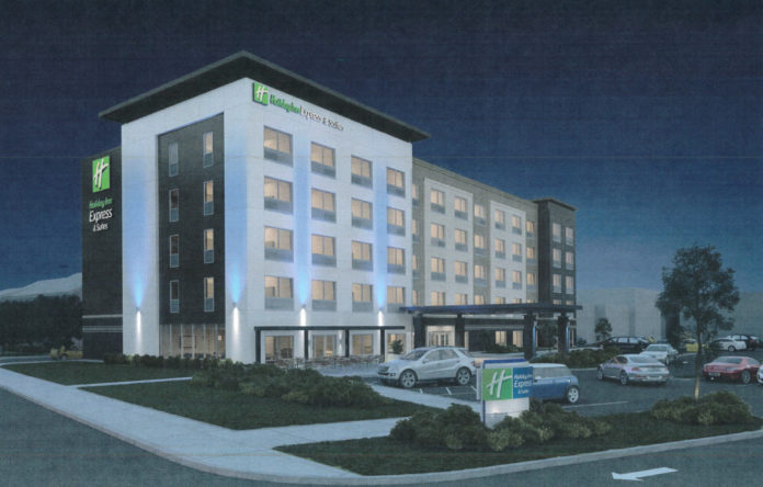 PICTURED IS the proposed 91-room Holiday Inn Express and Suites at 371 Pine St. / COURTESY CITY OF PROVIDENCE CITY PLAN COMMISSION