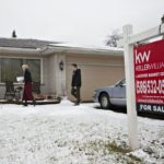 SALES OF previously owned U.S. homes declined in February after rising a month earlier to the highest level in a decade, according to figures released Wednesday from the National Association of Realtors in Washington. / BLOOMBERG NEWS PHOTO