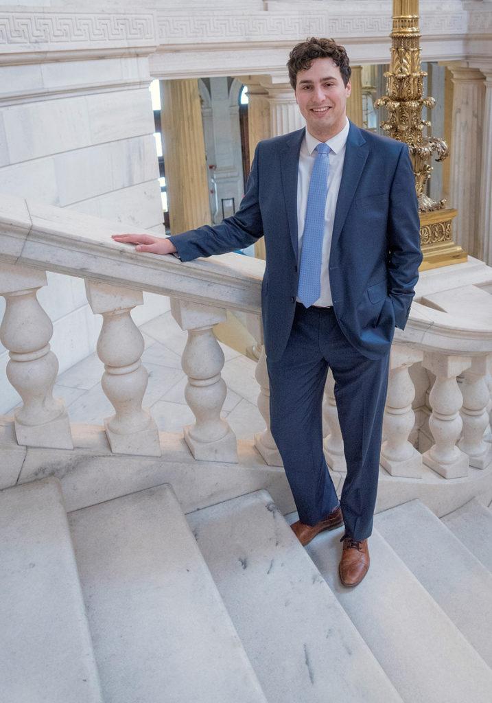 AARON REGUNBERG, R.I. Representative, D-ProvidencePBN PHOTO/MICHAEL SALERNO