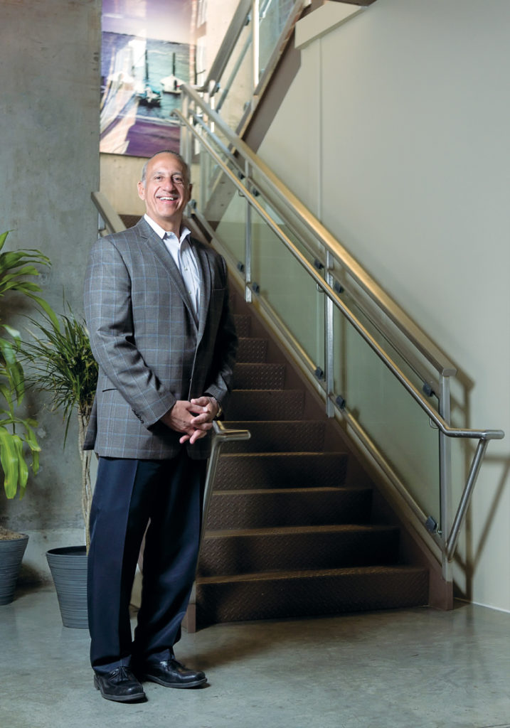 Mark Correia, CEO of Preventure, began his career in corporate health and well-being right out of college. He joined Preventure in 2003, and today he focuses on its people and the workplace, much like the company does in its products and services. / PBN PHOTO/MICHAEL SALERNO