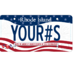 LICENSE PLATES commemorating the Bristol Fourth of July celebration, the oldest continuous celebration in the country, are now available. /COURTESY BRISTOL FOURTH OF JULY COMMITTEE