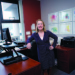 HEALTH ALL AROUND: Laura Walmsley's success building Preventure's corporate-wellness business has resulted in a healthier company and many healthier employees among its clients. / PBN PHOTO/MICHAEL SALERNO