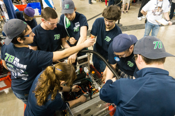 AIR Strike robotics team