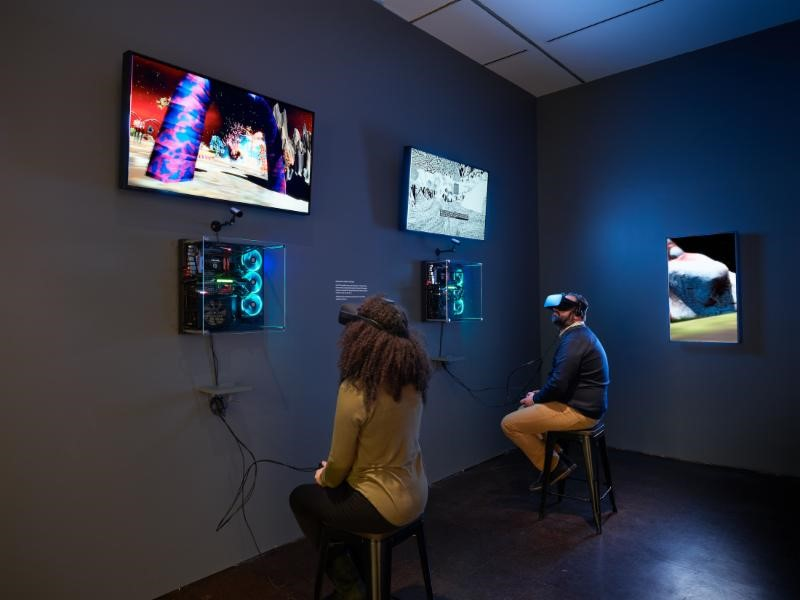 RISD Museum VR exhibit
