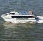 THE RHODE ISLAND Commerce Corporation and the Rhode Island Department of Transportation announced the return of expanded ferry service between Providence and Newport / COURTESY RICC
