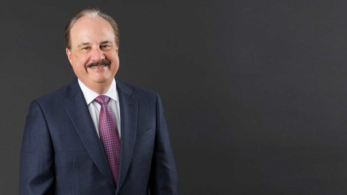 LARRY J. MERLO, CEO and president of CVS Health, saw his pay nearly double in 2018 over his 2017 total, even as the company posted a loss last year. / COURTESY CVS HEALTH