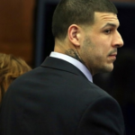 FORMER NEW ENGLAND PATRIOTS tight end Aaron Hernandez was found dead in his prison cell, the victim of an apparent suicide. / COURTESY WJAR-TV NBC 10