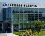 An Express Scripts building is seen in St. Louis, Missouri Thursday, July 21, 2011. Express Scripts and Medco Health Solutions, the largest U.S. pharmacy benefits management companies, said they will combine in a deal worth $29.1 billion in cash and stock. BLOOMBERG NEWS PHOTO/ WHITNEY CURTIS