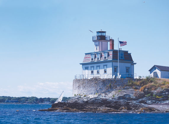 POPULAR LIGHT: The Rose Island Lighthouse in Newport, listed in the National Register of Historic Places, includes a museum and gets approximately 4,000 annual visitors. / PBN PHOTO/ANNE EWING