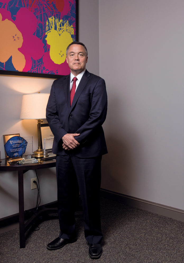 In nearly a decade as leader of Coastal Medical, Dr. G. Alan Kurose has led the organization through a transformation from a standard primary care practice to an accountable care organization, expanding care, saving money and improving quality. / PBN PHOTO/MICHAEL SALERNO
