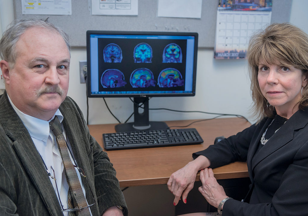 ON A MISSION: Dr. Brian R. Ott, director, Alzheimer's Disease & Memory Disorder Center at Rhode Island Hospital, and Lori A. Daiello, research scientist and clinical research administrator, are on a mission to reduce the prevalence of Alzheimer's.