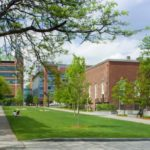"""BROWN UNIVERSITY'S Performing Arts Center will be located on the west side of """"the walk,"""" partially pictured above, a greenway that intersects the university's College Hill Campus. /COURTESY BROWN UNIVERSITY/WARREN JAGGER"""
