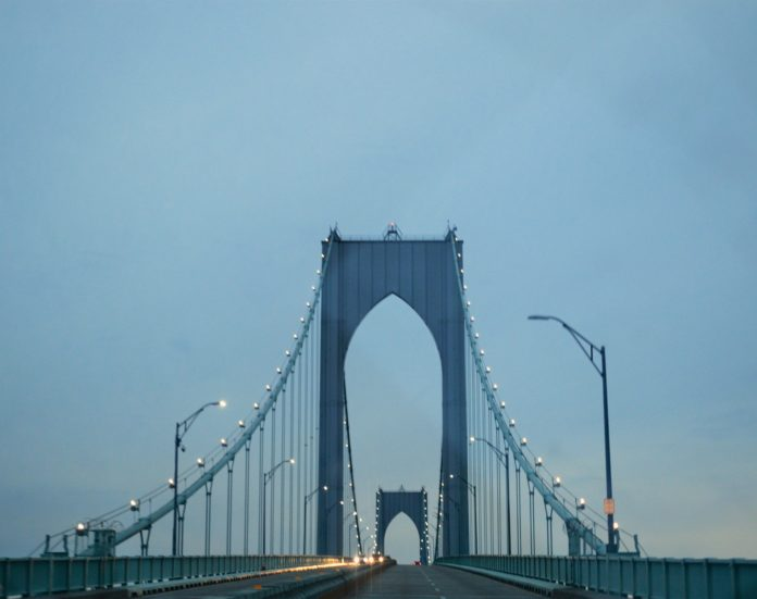 The Pell Bridge will undergo rehabilitation beginning next week and extending for 6-8 years. PBN PHOTO/NICOLE DOTZENROD