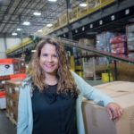 EVERYONE HAS STRENGTHS: Michelle Saunders, manager of organizational and leadership development for Ocean State Job Lot, enjoys helping all of the company's employees find the difference they can make in the workplace, including the company's North Kingstown distribution center.   / PBN PHOTO/MICHAEL SALERNO