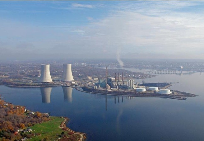 BRAYTON POINT POWER STATION in Somerset closed in June in 2017. / COURTESY DYNEGY INC.