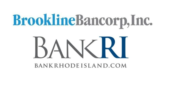 BOSTON-BASED BROOKLINE BANCORP, parent of Bank Rhode Island, reported fourth-quarter and full-year earnings that were negatively impacted by the federal tax overhaul.