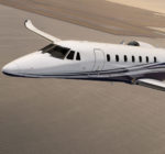Sales for private jets have been slowed by global uncertainty and an expansion of available options in the market. Above, a Citation Sovereign + from the Cessna branch of Textron. / COURTESY TEXTRON