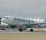 FRONTIER AIRLINES recently announced service to six new cities from T.F. Green Airport beginning in October. /COURTESY FRONTIER AIRLINES