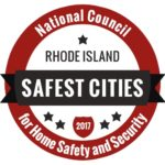 The NCHSS announced their top ranked safest cities in Rhode Island, Monday. /COURTESY NCHSS