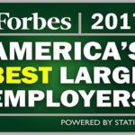 FM GLOBAL AND TEXTRON INC. ranked on Forbes 2017 America's Best Large Employers rankings. / COURTESY FORBES