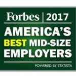 THREE RHODE ISLAND based companies ranked on the 'America's Best Midsize Employers' list released by Forbes this week. /COURTESY FORBES