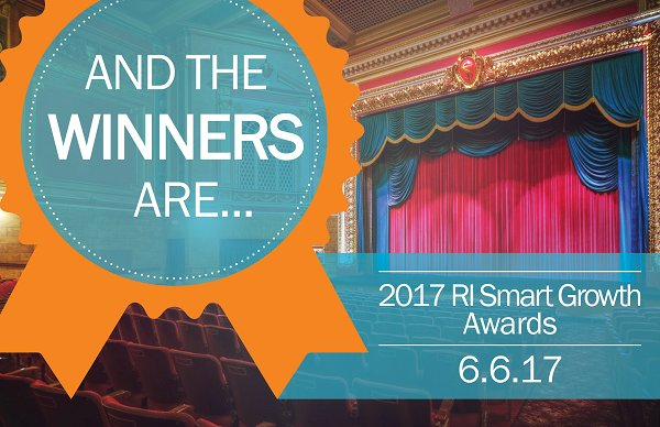 WINNERS OF the annual Rhode Island Smart Growth Awards will be recognized June 6 at the Stadium Theatre downtown.