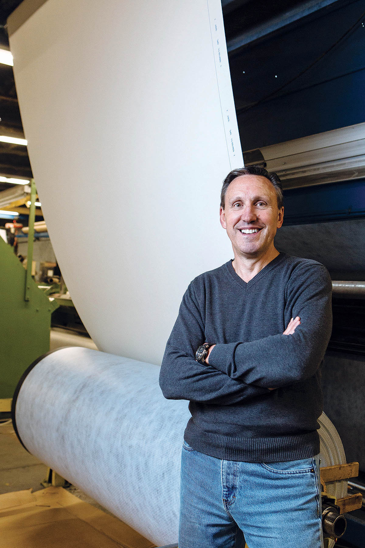 Prior to being named CEO and president of Cooley Group in 2011, Daniel Dwight both worked at and led large companies, ranging from General Electric to Tatum to Kronos Advanced Technologies, all high-tech, growth enterprises. / PBN PHOTO/RUPERT WHITELEY