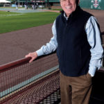 Despite his decades as a major league baseball executive, Pawtucket Red Sox Chairman Larry Lucchino may be facing his most challenging job yet: convincing the voters of Rhode Island to help the PawSox build a new stadium. / PBN PHOTO/MICHAEL SALERNO