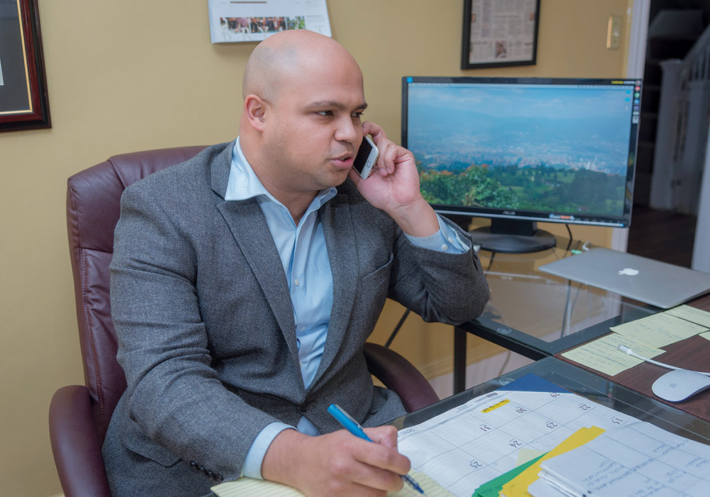 JOSE F. BATISTA Law Firm opened on Broad St. in Providence recently. / PBN PHOTO/MICHAEL SALERNO