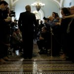 SENATE MAJORITY LEADER, Mitch McConnell put off a vote on the Republicans' health care bill until after the July 4 recess. /bloomberg file photo/ AARON P. BERNSTEIN