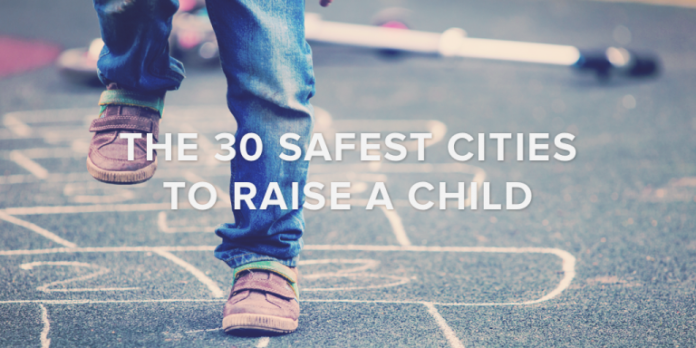 THREE RHODE ISLAND CITIES were ranked in the top 30 safest cities to raise a child in America list put out by Safewise. /COURTESY SAFEWISE
