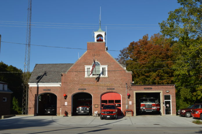 The Smithfield Fire Department is one of seven Rhode Island departments slated to receive AFG funding for a new firefighter accountability system. /PBN FILE PHOTO/ NICOLE DOTZENROD