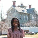 PHOEBEE JEAN, A MEMBER of Providence College's Class of 2019, was chosen for one of its Newman Civic Fellowships. /COURTESY CAMPUS CONTACT