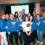 EVERYONE PITCHED IN: These BankNewport employees decorated the Atlantic Resort in Middletown for the bank's annual sales rally. / COURTESY BANKNEWPORT