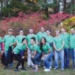 GIVING BACK: CBIZ & MHM employees volunteered to paint three Rhode Island group homes, part of the firm's initiative to encourage staff to engage in community service. / COURTESY CBIZ & MHM