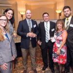 TAKING A BOW: Attendees from Shawmut at the 2016 Providence Business News Business Excellence Awards event, at which the company was recognized for overall excellence. / COURTESY SHAWMUT DESIGN AND CONSTRUCTION