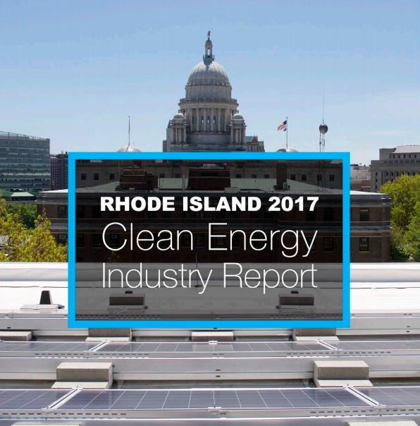 RHODE ISLAND HAS OVER 15,300 jobs in the clean energy sector according to the 2017 Rhode Island Clean Energy Jobs Report / COURTESY R.I. OFFICE OF ENERGY RESOURCES