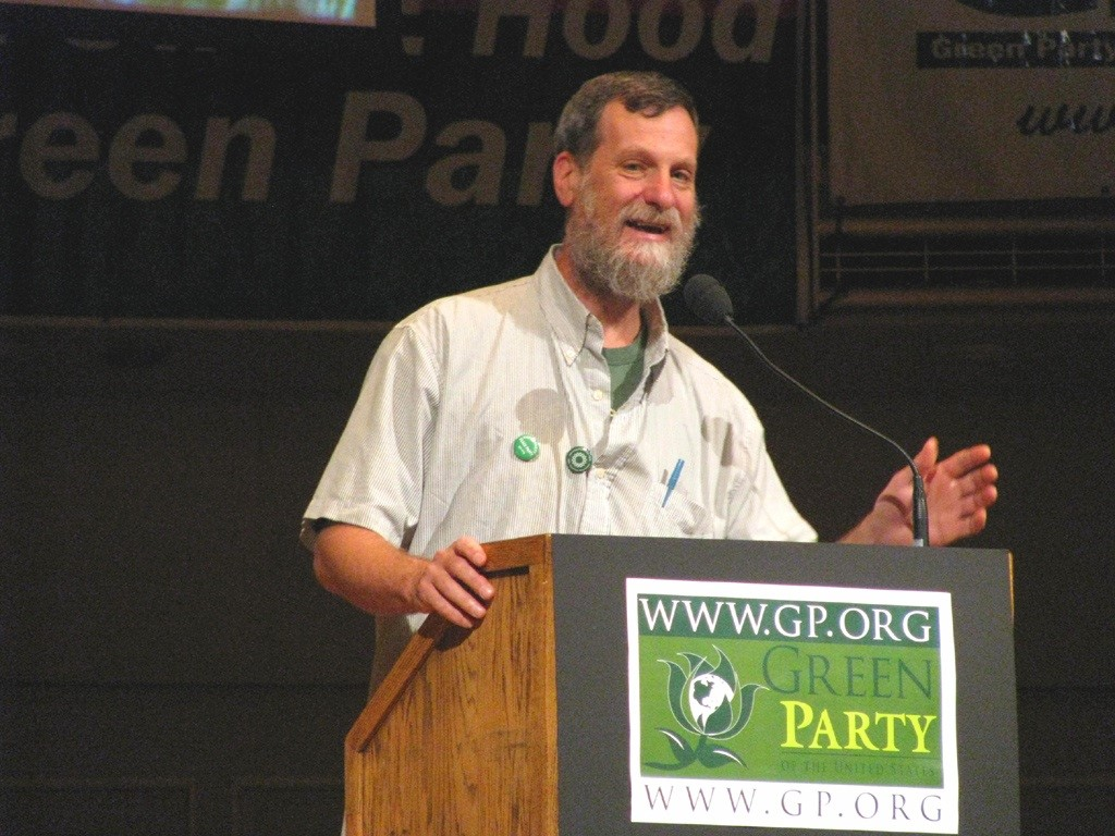 Greg Gerritt, winner of the 2017 Alison Walsh Award for Outstanding Environmental Advocacy, is a long-time activist for ecological and economic justice and administrator for the Environment Council of Rhode Island. / PHOTO COURTESY SAVE THE BAY