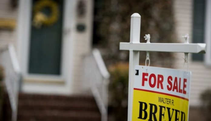 HOME PRICES IN the Providence metro area climbed 5.5 percent year over year in April, Black Knight said on Monday. /BLOOMBERG NEWS PHOTO/RON ANTONELLI