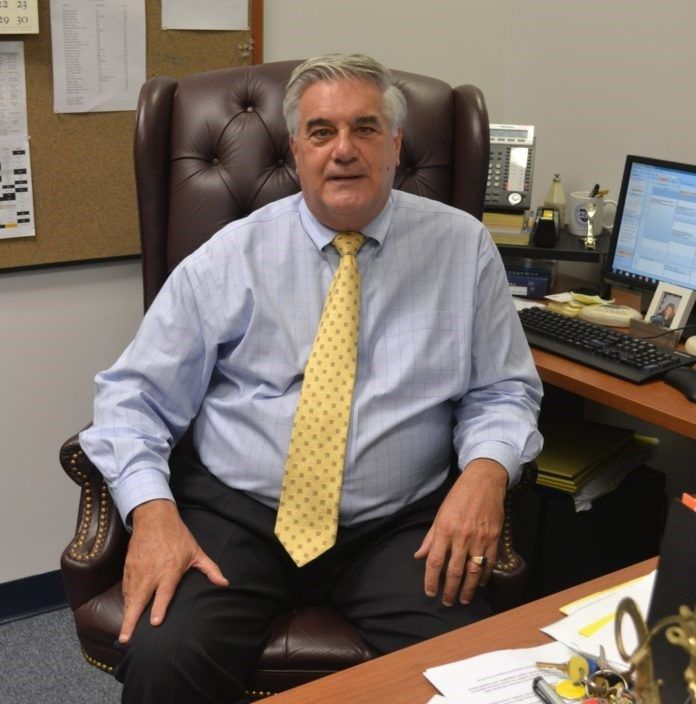 MARIO F. CIRILLO is the principal of the Academy for Career Exploration in Providence, a public charter school with a focus on tech skills training and competency-based learning. /COURTESY ACADEMY FOR CAREER EXPLORATION