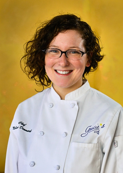 MELISSA DENMARK WAS NAMED a semifinalist for Zagat's 30 under 30. /COURTESY GRACIE'S