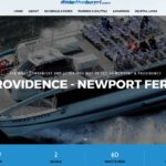 THE RHODE ISLAND DEPARTMENT of Transportation has launched a new site for the Providence-Newport ferry. /COURTESY RIDOT