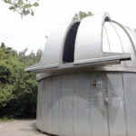 THE MARGARET M. JACOBY Observatory at Community College of Rhode Island. /COURTESY CCRI